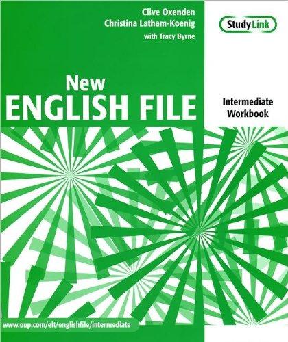 New English File: Intermediate Workbook with MultiROM (+ CD-ROM)