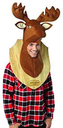 - Kostüm für Erwachsene Einheitsgröße (Hirschkopf-kostüm)