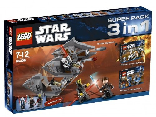 LEGO 66395Star Wars-Paket Spezial 3in 1(79577913und 7914) - Spezial-paket