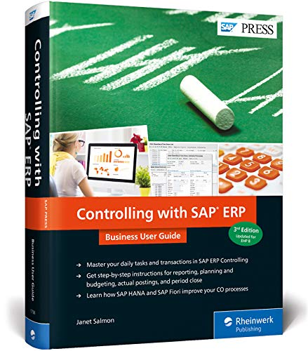 Controlling with SAP ERP: Business User Guide