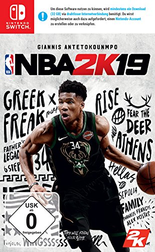 NBA 2K19 Standard Edition - Nintendo Switch [Edizione: Germania]