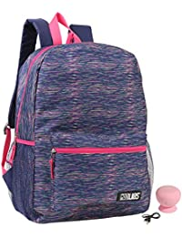 Confetti Mad Labs Rainbow Heather Backpack With Bluetooth Spaeker Kid's School Backpack