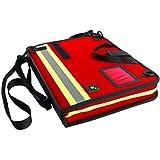 tee-uu BIG Einsatz-Organizer, DIN A4 hoch 39 x 29 x 5 cm in 2 Farben, Farben:Rot