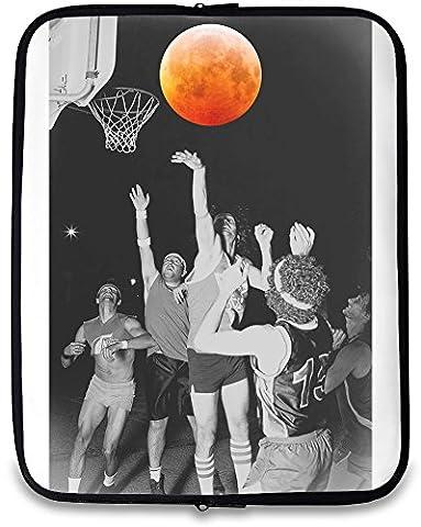 Space Basketball Bedruckte Laptop Hülle