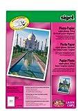 Sigel A4, carta fotografica per stampanti laser / fotocopiatrici a colori, 250 g/m2, colore: Bianco