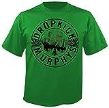 DROPKICK MURPHYS Boot - Green - T-Shirt