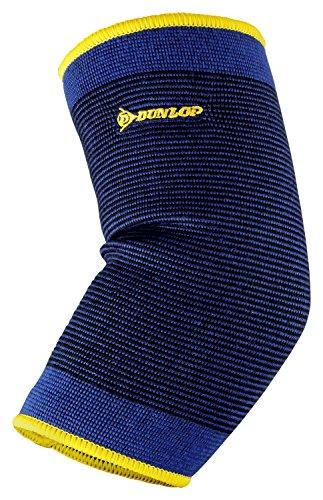 Dunlop Profi Ellenbogenschutz | Ellenbogen Bandage | waschbar | Kompressionsgestrick| für Männer und Frauen – ideal für die Regeneration nach Verletzungen oder zur Entlastung beim Sport