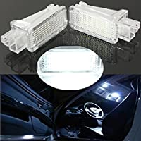 Pair LED Interno Light Door Courtesy Footwell Luggage Lamp per AUDI VW SKODA (Lambo Door)