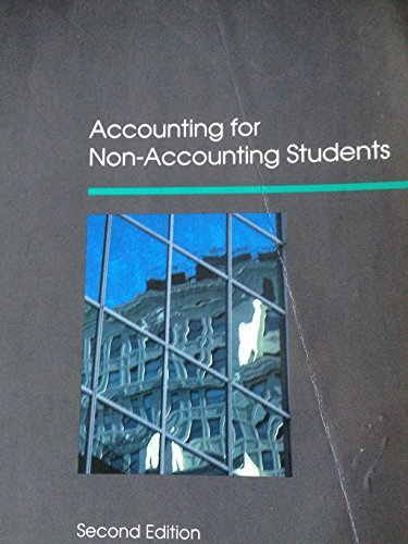 Accounting for Non-Accounting Students by J.R. Dyson (1991-06-10)