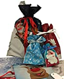 Giftmate ® x30 Large Christmas Set Drawstring Gift Wrapping Giftbags The Quickest Way To Wrap Presents Or Gifts