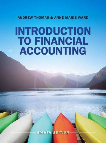 Introduction to Financial Accounting (UK Higher Education Business Accounting)