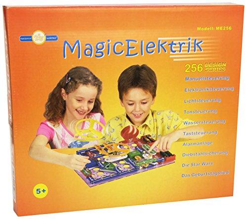 Skyfield Magic Elektrik Baukasten mit 256 Spielvarianten