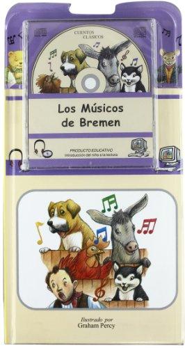 Musicos De Bremen, Los (+cd) (Cuentos Clasicos) por Graham (il.) Percy