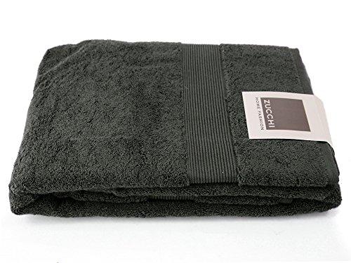 Telo bagno zucchi home fashion 90*150 art. 1715 asfalto