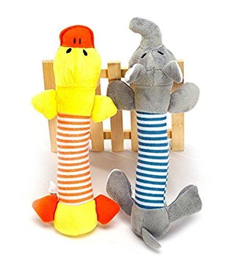 Unicoco Juego 2 piezas juguete sonidos perro, cachorro