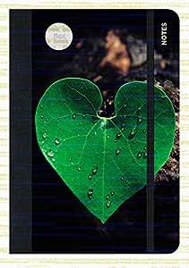 Système flexible de carnet flexbook cf. photo feuilles avec élastique 11 x 17 cm