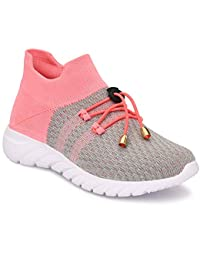 TECHNOFIT Women's Mesh Perfect Girls Dancing/Sports/Sneakers for Women