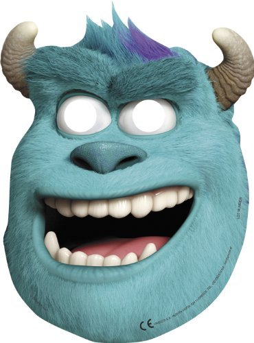 Monsters Inc Monsters University Party Sully Face Masken x 6