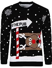 Hombre y Mujer Mujer Unisex Jersey de Navidad Jersey Holgado Navidad 3D  Novedad Star Wars Yoda Oscuro Vader Elfo Reno Suéter Retro… 153b25e63845