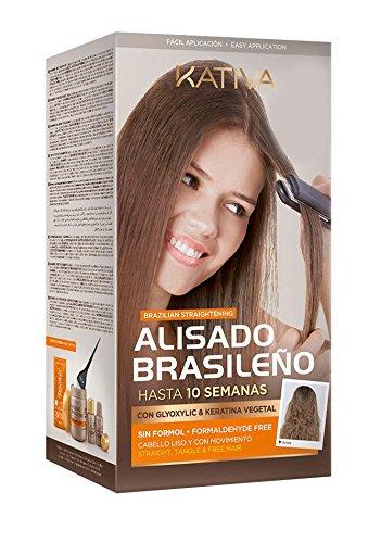 Kativa Tech Brasilianischen Begradigung Kit (8 Beutel-kit)