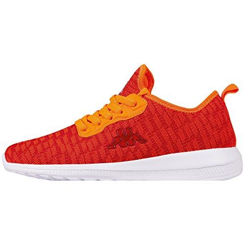 Kappa Unisex-Erwachsene Gizeh Sneaker, Rot (2044 Red/Orange), 41 EU
