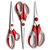 Set of 3 Multi-Purpose Soft-Grip - Stain...