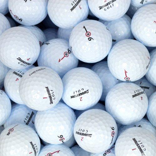 Value Pack Cut Outs (Second Chance Golfbälle 100 Bridgestone Lake A-Qualität, weiß, PRE-100-BOX-BRI-E6)