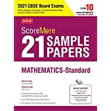 ScoreMore 21 Sample Papers For CBSE Board Exam 2021-22 – Class 10 Mathematics Standard