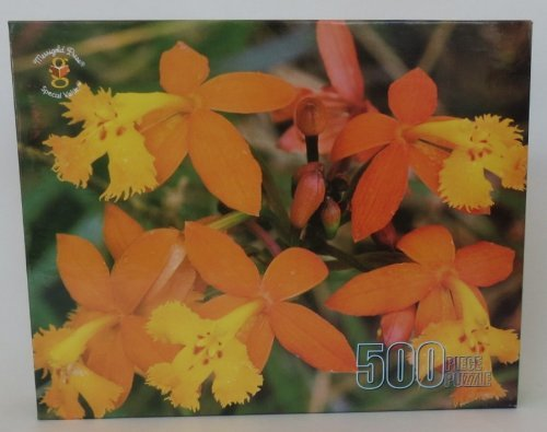 ical Orchid 500 Piece Jigsaw Puzzle by Merrigold Press ()