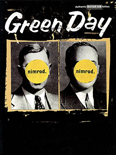 Green Day: Nimrod Guitar Tab dition Guitare (Authentic Guitar-Tab)