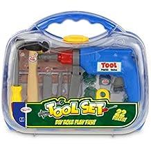(Toyrific) 22 piezas de la caja del sistema de herramienta de acarreo (Edad 3)