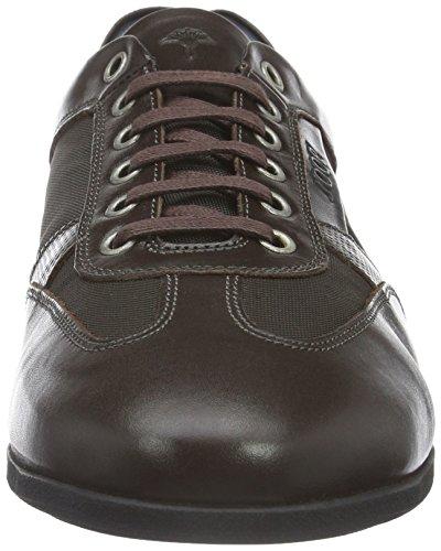 Joop! Hernas Sneaker Calf/Nylon/Print Calf, Baskets Basses Homme Marron - Braun (702)