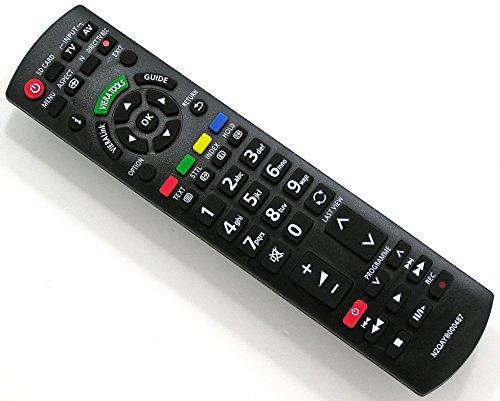Ersatz Fernbedienung für Panasonic VIERA N2QAYB000487 Fernseher TV Remote Control / Neu Panasonic Viera