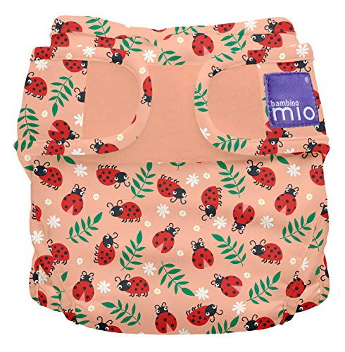 Bambino Mio, miosoft windelüberhose, warmherziger marienkäfer, Größe 1 (<9kg)
