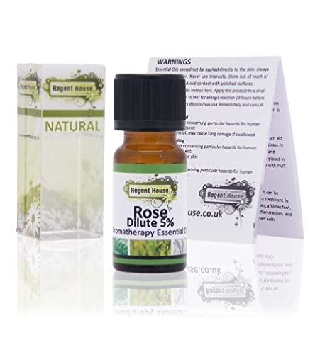 Rose Dilute Essential Oil (10ml) by Regent House (Rosa Damascena)