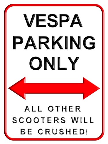 vespa-scooter-parking-only-small-aluminium-wall-sign-15x20cms