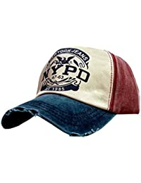 3404e47dfc1 iSweven Hip Hop NYPD 100% Cotton Cap for Men   Women (Unisex) Fashion