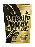 PEAK Anabolic Protein Selection Caramel-Pecan-Pie 500g | Premium Molkenprotein mit L-Leucin und Soja-Isolat | BCAA | Glutenfrei | Arotop Qualitätssiegel durch Qualitätskontrollen in Deutschland | Proteinshake für Bodybuilding, Kraftsport und Fitness | Eiweißpulver |