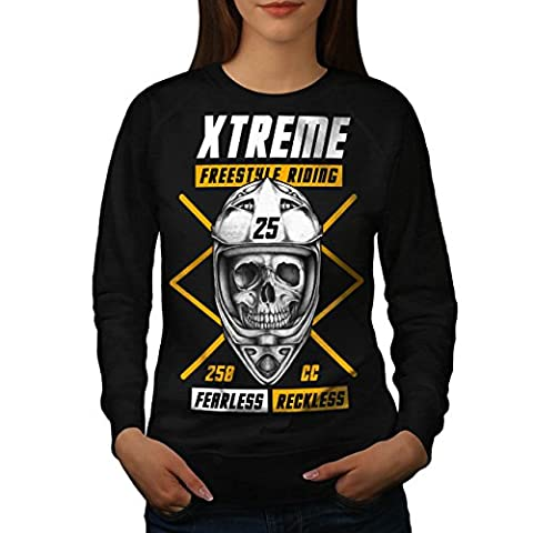 Freestyle motocross sport Femme M Sweat-shirt | Wellcoda