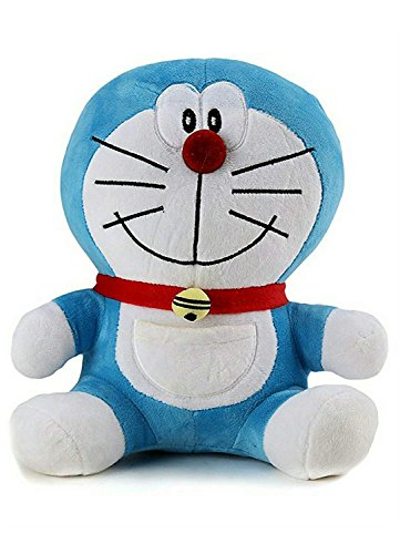Patly Stuff Plush Doraemon Soft Toy (Blue, 40 cm)