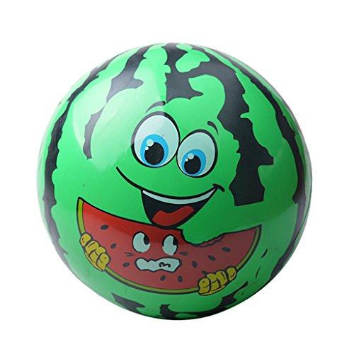 (Gazechimp Wassermelone Gesicht Kinder Aufblasbare Blow-up Ball Strand Pool Spielzeug aufblasbare Kugel)