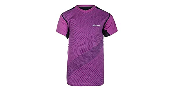 5b9e39475e61 Babolat Boys Performance V-Neck Tee Junior 128: Amazon.co.uk: Sports &  Outdoors