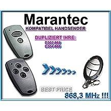 handsender für Marantec D302 868868,3 MHz Ersatz Fernbedienung