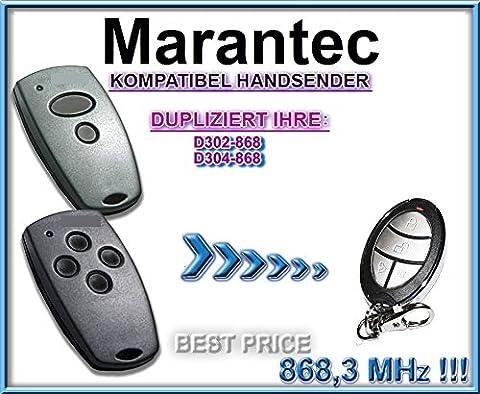 Marantec D302, Marantec D304 – 868,3Mhz Kompatibel Handsender, Ersatz, KLONE !!! TOP Qualität clone remote control!