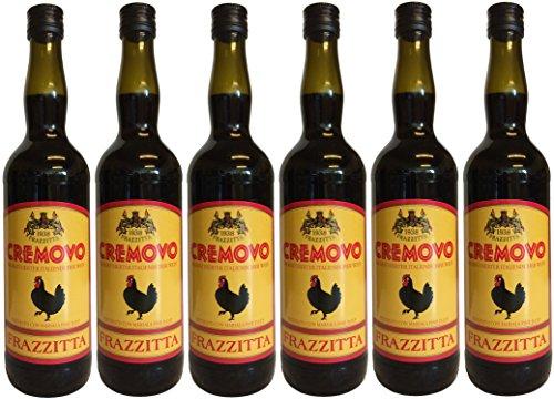 Marsala Cremovo FRAZZITTA (6 X 0,75 L) - Vino Aromatizzato all´Uovo - Aromatisierter Wein mit Ei 14,9 % Vol. aus Italien