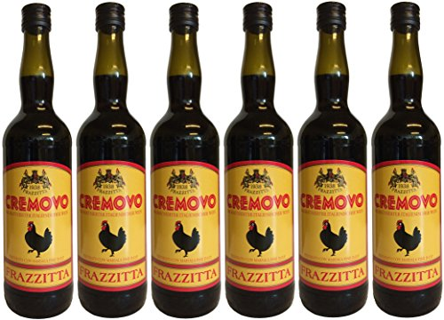 Marsala Cremovo FRAZZITTA (6 X 0,75 L) - Vino Aromatizzato all´Uovo - Aromatisierter Wein mit Ei 14,9 {209aa22f45104fbb1aa7535bc36a2fa03aa0e6e28fc67b0feb91adf0865b8556} Vol. aus Italien
