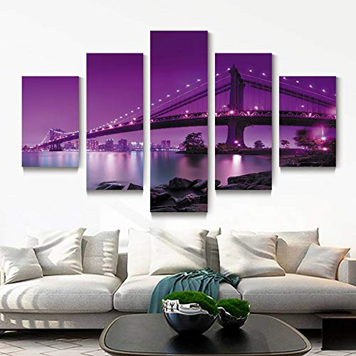 OLGKJ Canvas HD Print Painting Modular Pictures 5