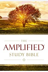 Amplified Study Bible, Hardcover (Bible Amplified) Hardcover