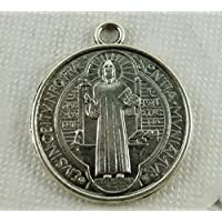Linyena Medalla Cruzada Medalla San Benito (Plata Antigua)