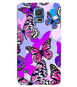 Citydreamz Butterfly\Jungle Hard Polycarbonate Designer Back Case Cover For Samsung Galaxy Note 4